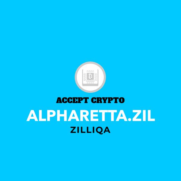 Alpharetta.zil Blockchain Domain Development