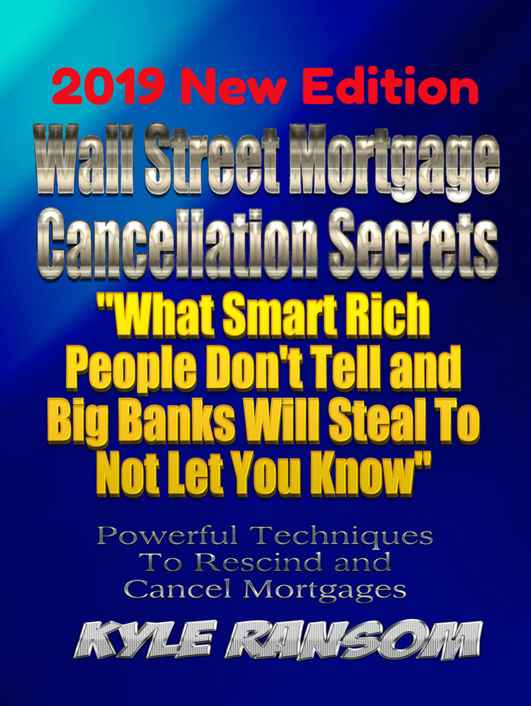 Wall Street Mortgage Cancellation Secrets 2019 New Edition